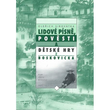 Lidové písně, pověsti a dětské hry z Boskovicka