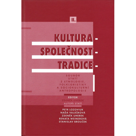 Kultura - společnost - tradice II.