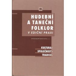 Hudební a taneční folklor IV.