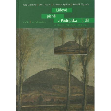 Lidové písně z Podřipska ve sbírce Františka Homolky I. díl
