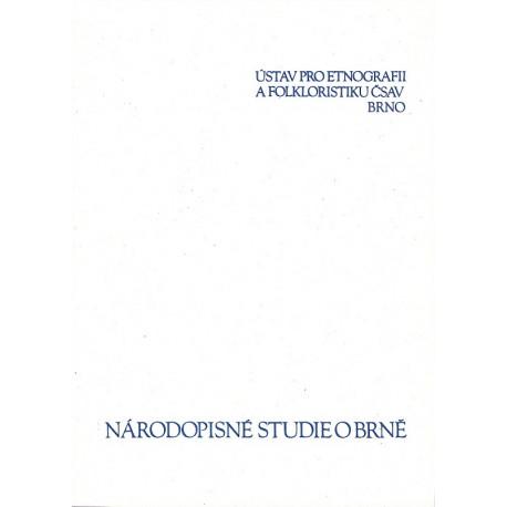 Národopisné studie o Brně