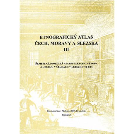 Etnografický atlas Čech, Moravy a Slezska III