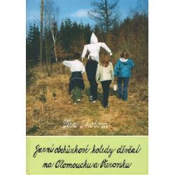 Jarní obchůzkové koledy děvčat na Olomoucku a Přerovsku
