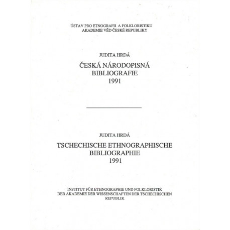 Česká národopisná bibliografie 1991
