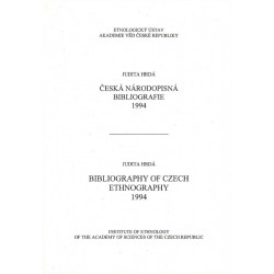 Česká národopisná bibliografie 1994