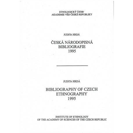 Česká národopisná bibliografie 1995